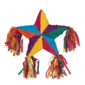 Rainbow 5 Point Star Pinata  